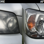 dull faded headlight repair