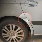 wheel arch dent repair