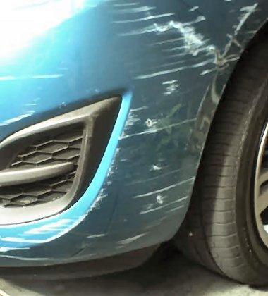 Bumper Scrapes