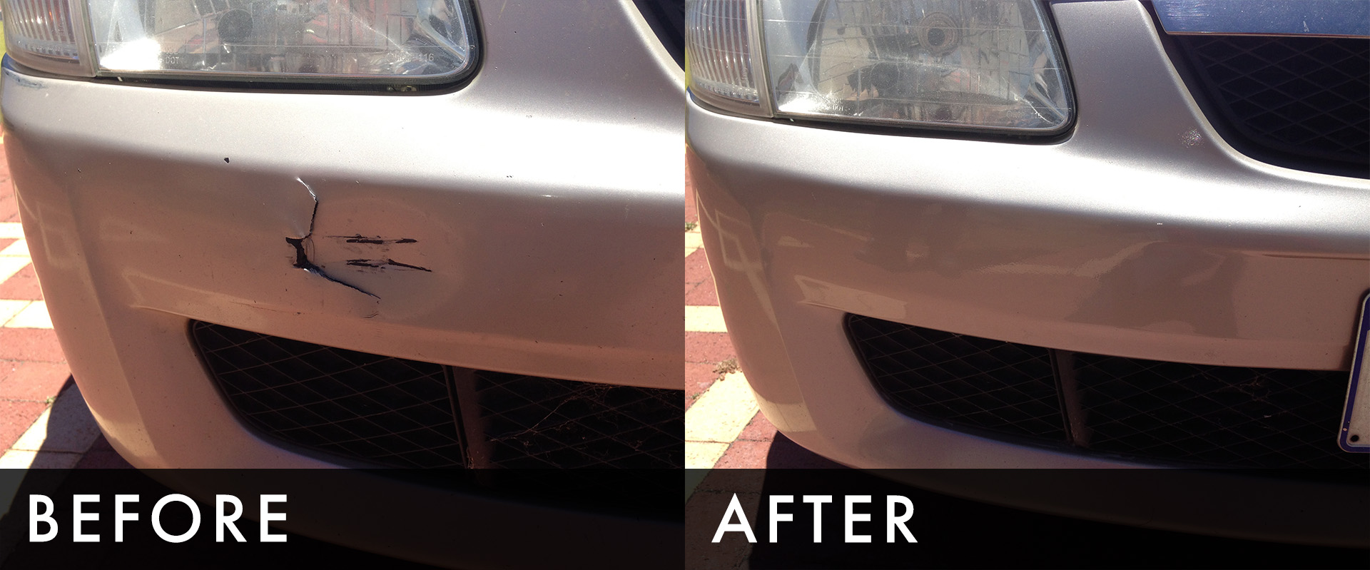 we specialise in bumper repairs and minor panel or paint ...